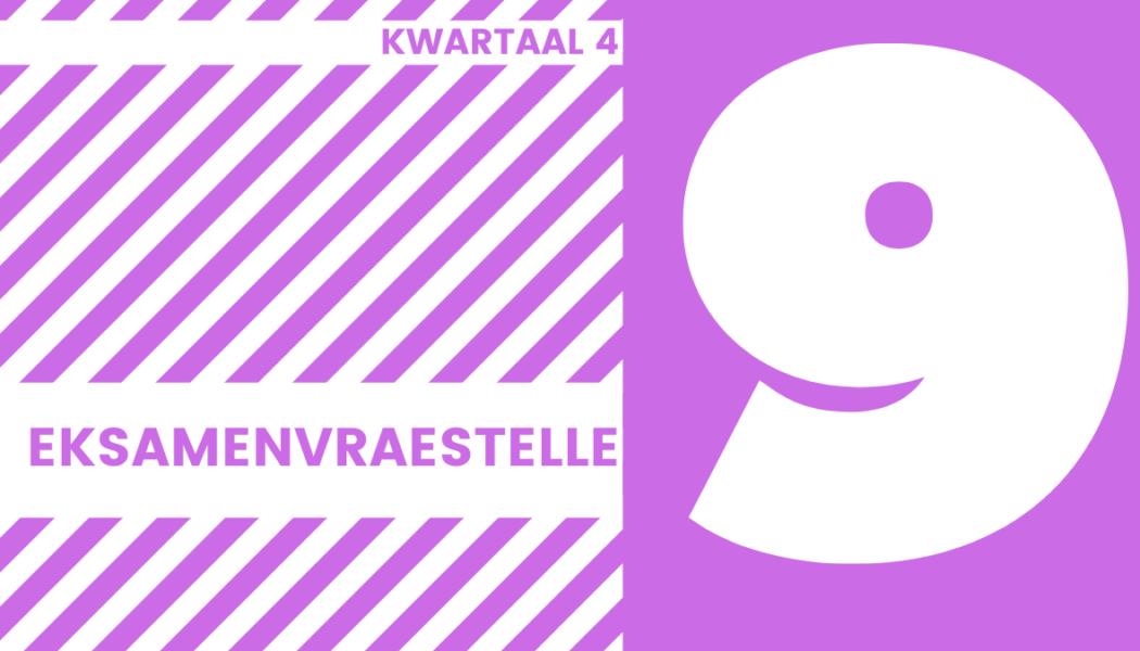 GR9 EKSAMENVRAESTELLE